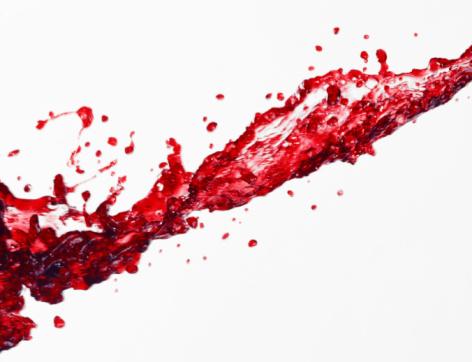 Spilling「Spilt red wine」:スマホ壁紙(2)