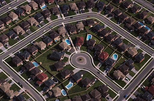 Cul-de-sac「Tract Housing in Suburb」:スマホ壁紙(17)