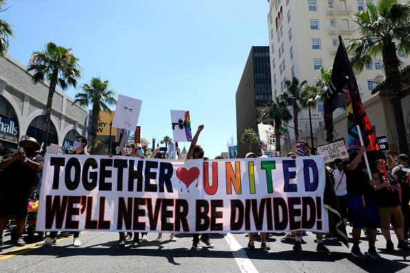 Material「All Black Lives Matter Solidarity March」:写真・画像(8)[壁紙.com]