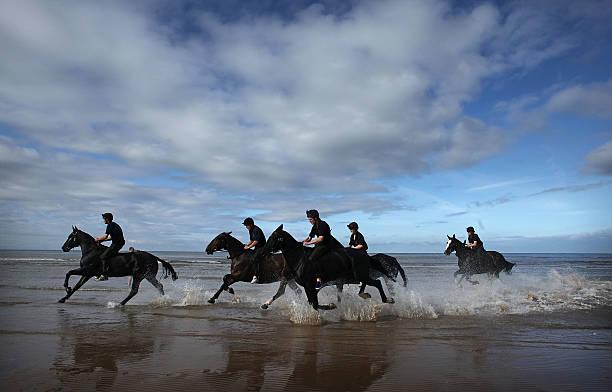 The King�s Troop Royal Horse Artillery Enjoy A Short Holiday In Blackpool:ニュース(壁紙.com)