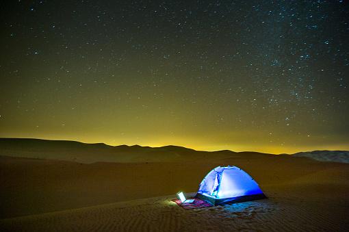 Courage「Camp a nightfall」:スマホ壁紙(11)