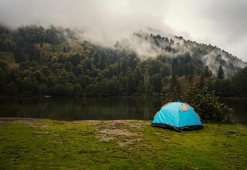 Rain「Camping life」:スマホ壁紙(3)