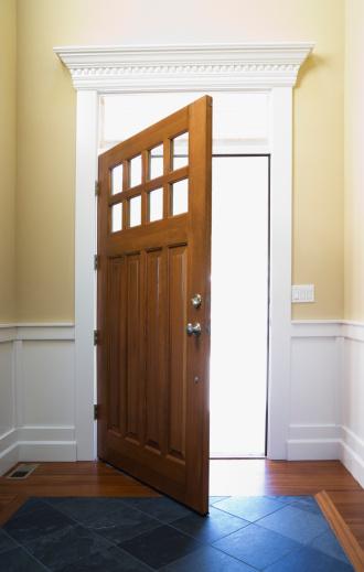 Front Door「Open front door」:スマホ壁紙(14)