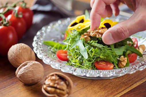 Fennel「Wildflower Detox Salad」:スマホ壁紙(1)