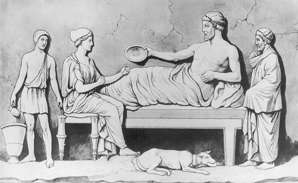 Classical Style「Greek Family Meal」:写真・画像(0)[壁紙.com]