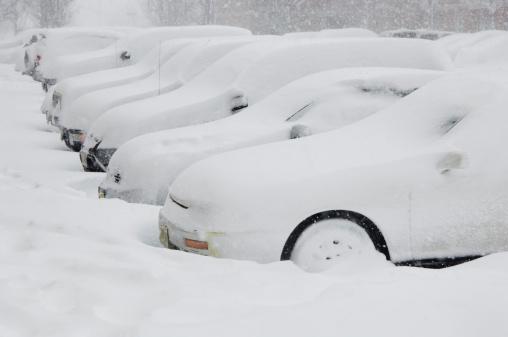 Snowdrift「Cars buried in snow」:スマホ壁紙(10)