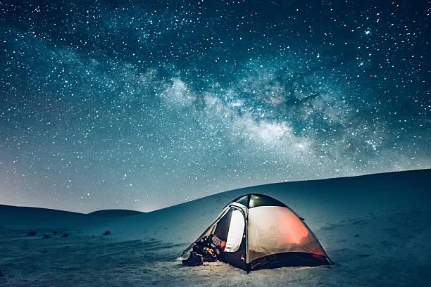 Backcountry Camping under the Stars:スマホ壁紙(壁紙.com)
