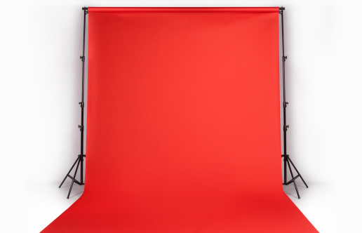 Photographing「Red photographers backdrop in studio」:スマホ壁紙(2)