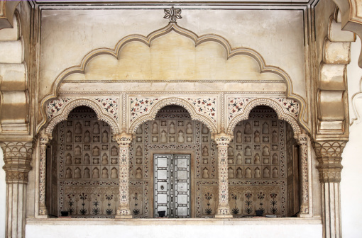 Indian Culture「Amber Fort near Jaipur in Rajasthan state, India.」:スマホ壁紙(1)