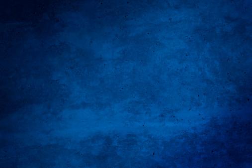 Dark Blue「Blue grunge background」:スマホ壁紙(7)