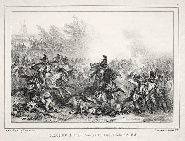 Pouring「Album Pour 1833: Charge De Hussards Républicains」:写真・画像(0)[壁紙.com]