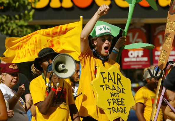 Corporate Business「Anti-FTAA Protesters Arrive In Miami 」:写真・画像(0)[壁紙.com]