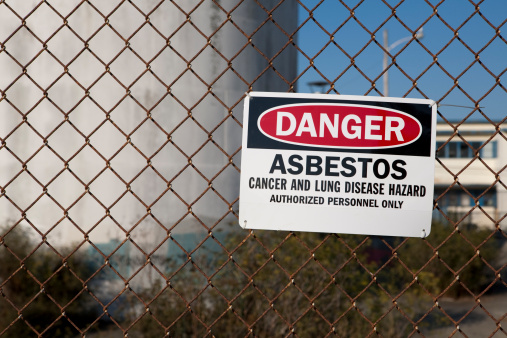 Environmental Cleanup「Danger Asbestos Warning Sign」:スマホ壁紙(16)