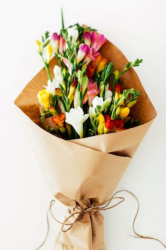 Bunch「Bouquet wrapped in paper」:スマホ壁紙(3)