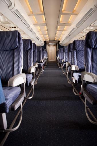 Passenger Cabin「Airplane cabin」:スマホ壁紙(4)