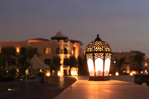 Arabic Style「Arabesque lantern」:スマホ壁紙(4)