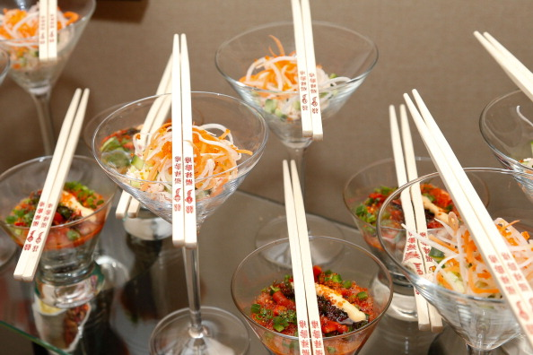 Salad「The 55th Annual GRAMMY Awards - Behind The Scenes Kitchen Tour And Suite Menu Tasting」:写真・画像(14)[壁紙.com]