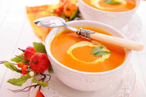 Hokkaido「Pumpkin soup with creme fraiche」:スマホ壁紙(0)