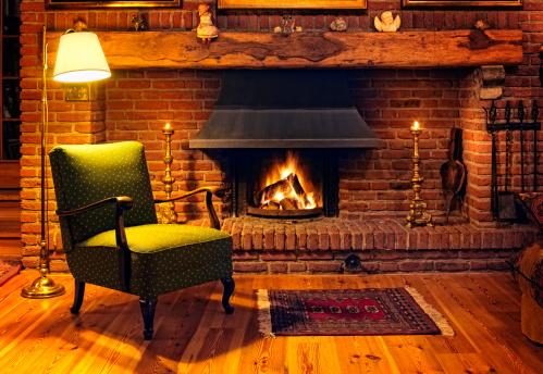 Heat - Temperature「Fireplace」:スマホ壁紙(5)