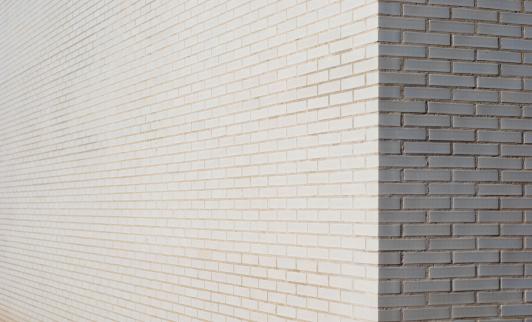 City Life「White brick wall corner」:スマホ壁紙(17)