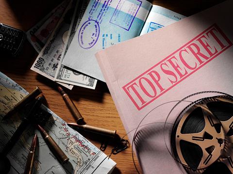Single Word「Top Secret Document in a Office」:スマホ壁紙(5)