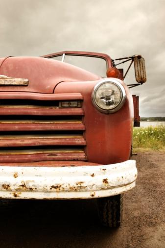 Restoring「Antique Farm Truck」:スマホ壁紙(6)