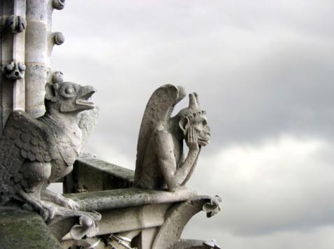Cathedral「Gargoyle pair」:スマホ壁紙(18)