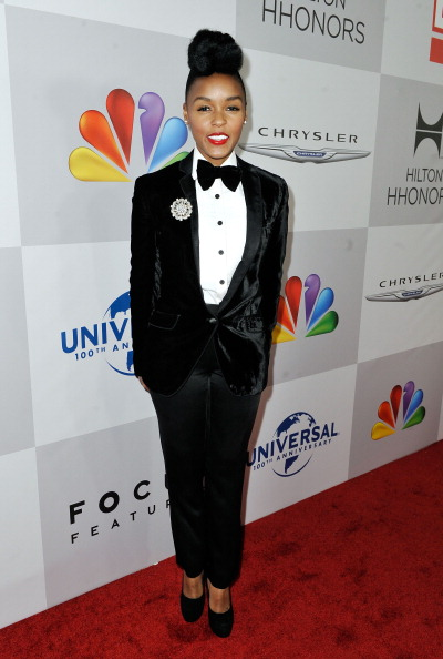 Tuxedo「NBCUniversal's 69th Annual Golden Globes Viewing And After Party Sponsored By Chrysler And Hilton - Red Carpet」:写真・画像(11)[壁紙.com]