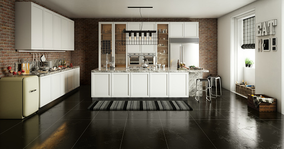 Domestic Kitchen「Domestic Kitchen Interior」:スマホ壁紙(8)