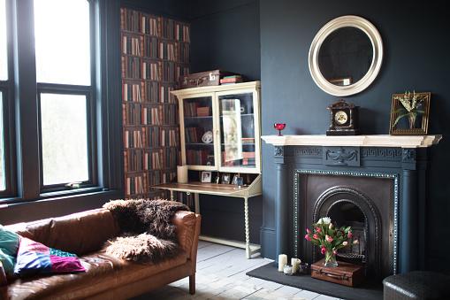 Antique「Fashionable vintage styled living room」:スマホ壁紙(10)