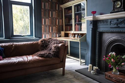 Cool Attitude「Fashionable vintage styled living room」:スマホ壁紙(4)