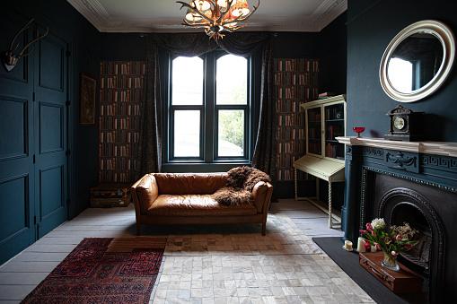 Victorian Style「Fashionable Living Room interior」:スマホ壁紙(11)