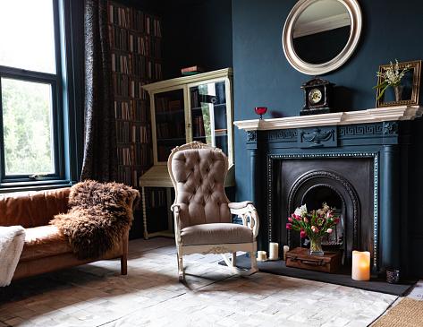 Antique「Fashionable Living Room interior」:スマホ壁紙(15)