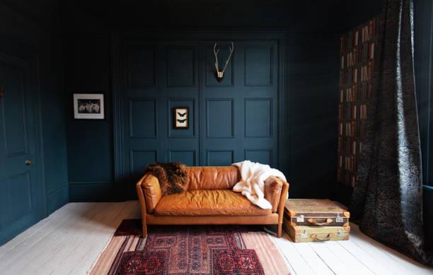 Fashionable Living Room interior:スマホ壁紙(壁紙.com)