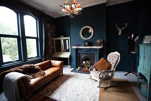 Cool Attitude「Fashionable Living Room interior」:スマホ壁紙(9)