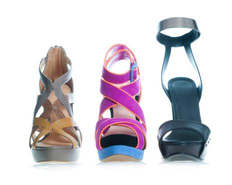 Ankle Strap Shoe「Fashionable platform High Heels sandal in fancy colors」:スマホ壁紙(7)