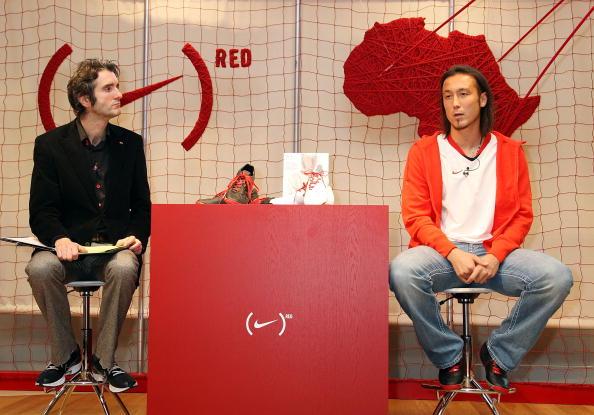サッカー日本代表「Nike (RED) Event at NikeTown Tokyo」:写真・画像(3)[壁紙.com]
