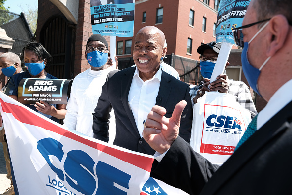 Behind「NYC Mayoral Candidate Eric Adams Endorsed By Civil Service Employees Association」:写真・画像(7)[壁紙.com]