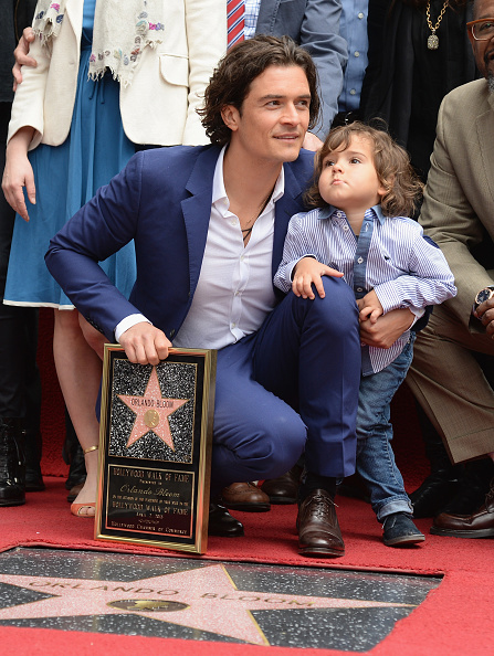 Flynn Bloom「Orlando Bloom Honored On The Hollywood Walk Of Fame」:写真・画像(6)[壁紙.com]