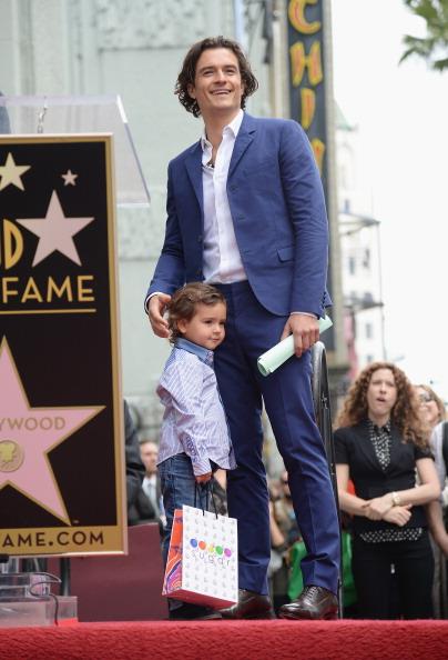 Flynn Bloom「Orlando Bloom Honored On The Hollywood Walk Of Fame」:写真・画像(3)[壁紙.com]