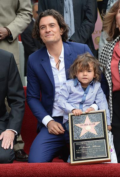 Flynn Bloom「Orlando Bloom Honored On The Hollywood Walk Of Fame」:写真・画像(9)[壁紙.com]