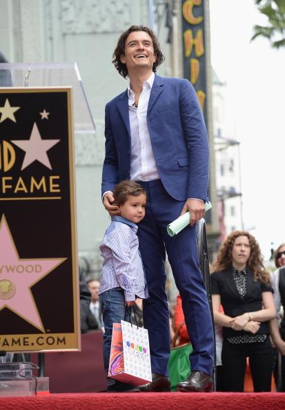 Flynn Bloom「Orlando Bloom Honored On The Hollywood Walk Of Fame」:写真・画像(2)[壁紙.com]
