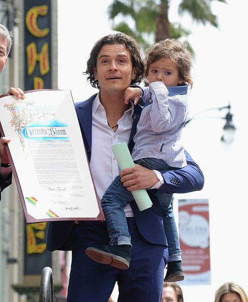 Flynn Bloom「Orlando Bloom Honored On The Hollywood Walk Of Fame」:写真・画像(8)[壁紙.com]