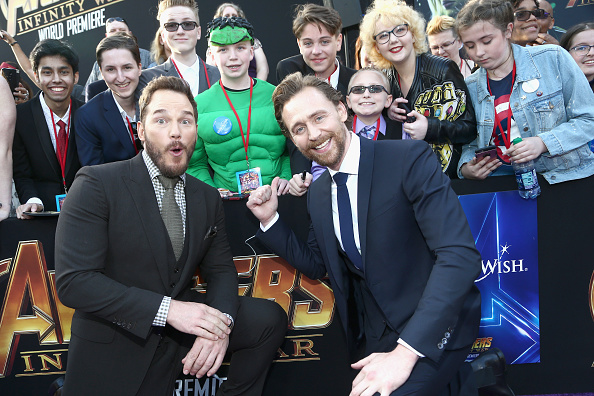 "Awe「Los Angeles Global Premiere for Marvel Studios' ""Avengers: Infinity War""」:写真・画像(16)[壁紙.com]"