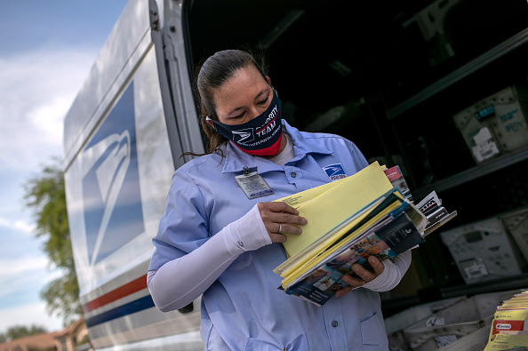 Post - Structure「U.S. Postal Service Prepares For Collecting Absentee Ballots Ahead Of November's Election」:写真・画像(19)[壁紙.com]