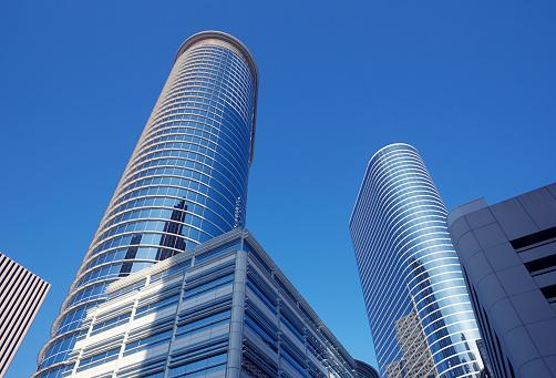 Postmodern「Postmodern skyscrapers in Downtown Houston」:スマホ壁紙(16)
