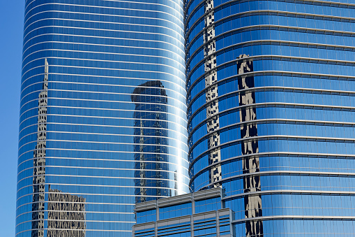 Postmodern「Postmodern skyscrapers in 1400 Smith Street, Houston」:スマホ壁紙(2)