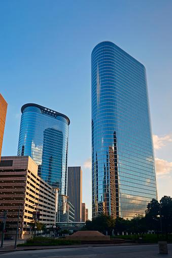 Postmodern「Postmodern skyscrapers in 1400 Smith Street, Houston」:スマホ壁紙(4)