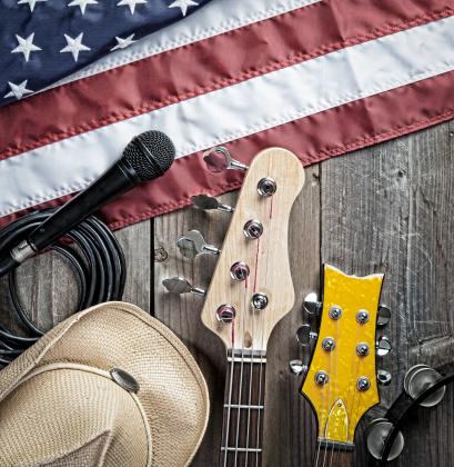 Bass Instrument「American Blues. Country Music.」:スマホ壁紙(11)