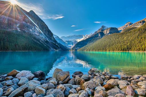Dramatic Landscape「Lake Louise,Banff National park,Alberta」:スマホ壁紙(8)